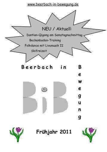 2011 Quartal 1 - Beerbach-in-Bewegung