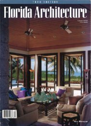 Florida Architecture - Barry  Beer Design