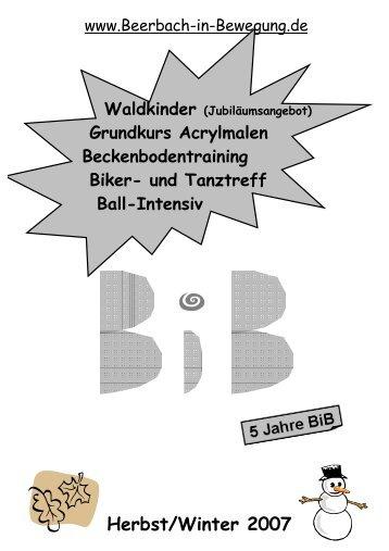 Erwachsene(r) - Beerbach-in-Bewegung