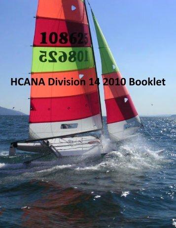 HCANA Division 14 2010 Booklet - Hobie Division 14 - International ...