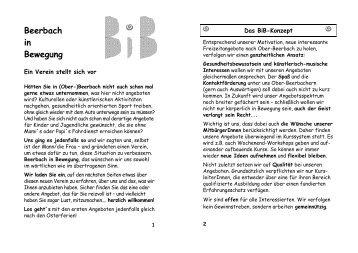 2002 Quartal 2 (Sommer) - Beerbach-in-Bewegung