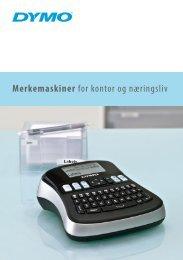 Merkemaskiner for kontor og naeringsliv - DYMO