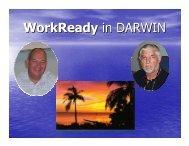 WorkReady NT Program - VETnetwork Australia