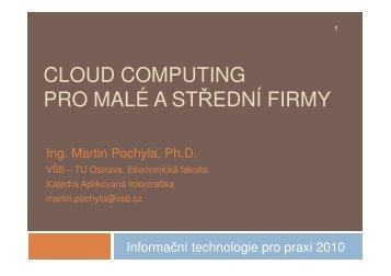 Pochyla_Cloud Computing - cssi-morava.cz