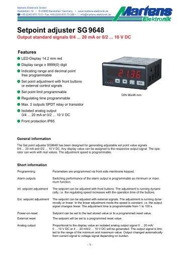 SG9648-V1_8-02- Prospekt - Martens Elektronik GmbH