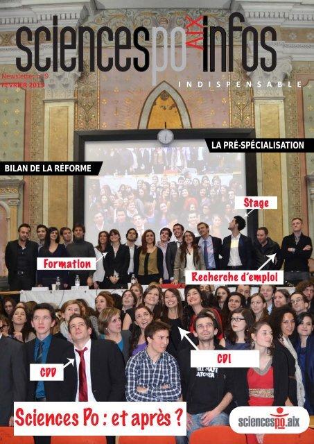 Sciences Po : et après ? - Sciences Po Aix