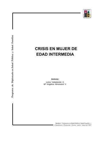 CRISIS EN MUJER DE EDAD INTERMEDIA