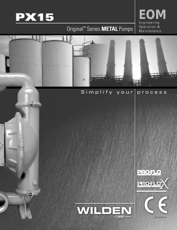 PX15 Engineering Operating and Maintenance Manual