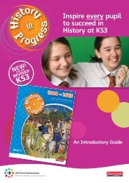 Download the Introductory Guide - Pearson Schools