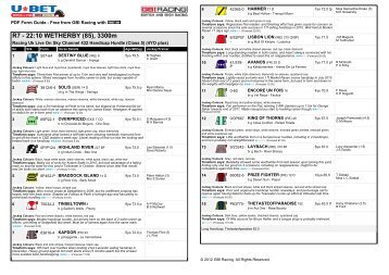Programme including full form at the races hr programme including full form at the races thecheapjerseys Gallery