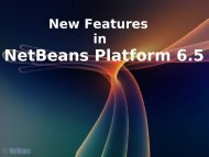 New Features in NetBeans Platform 6