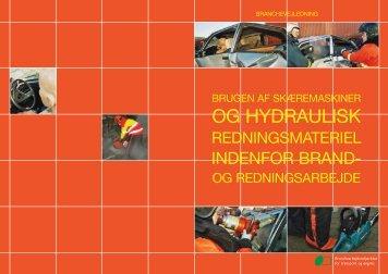 Branchevejledning, Brugen af skæremaskiner og hydraulisk