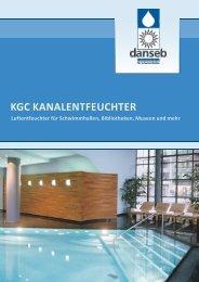 kgc kanallufttrockner - Luftentfeuchter von DANSEB