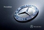 Personbilar - Mercedes-Benz