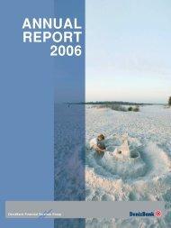 annual report 2006 - DenizBank