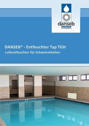 DANSEB® - Entfeuchter Typ TGH - Luftentfeuchter von DANSEB