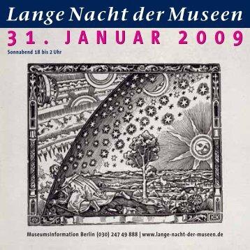 31. januar 2009 31. januar 2009 - Lange Nacht der Museen