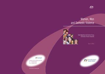 Women, Men and Domestic Violence