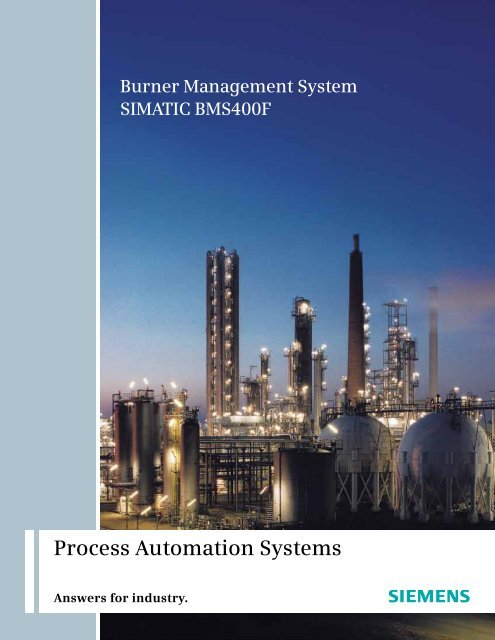 Process Automation Systems - Siemens Industry, Inc.