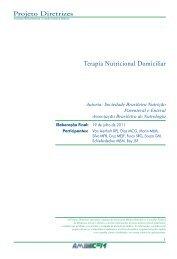 Terapia Nutricional Domiciliar - Projeto Diretrizes