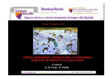 Scarica le slide della relazione - Clio 92