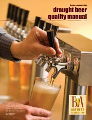 draught beer quality manual - Devil's Canyon Brewing Company