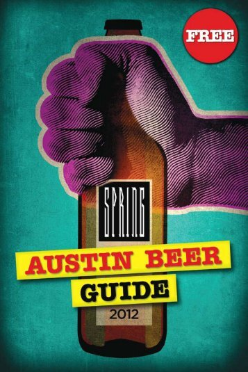 from the editors - Austin Beer Guide