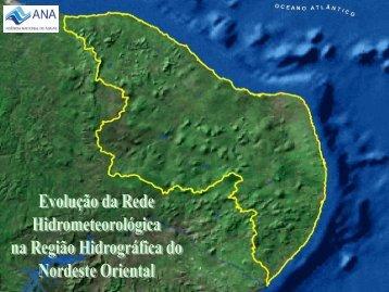 Evolução - RH Atlântico Nordeste Oriental - Ana