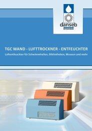 tgc wand - Luftentfeuchter von DANSEB