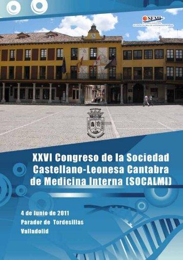 XXVI Congreso SOCALMI - Sociedad Española de Medicina Interna