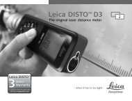 Disto D3 User Manual - Pacific Solutions