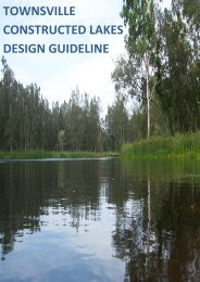townsville constructed lakes design guideline - Townsville City Council