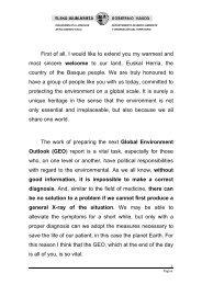 Texto SailburuaUNEP_.. - Stakeholder Forum