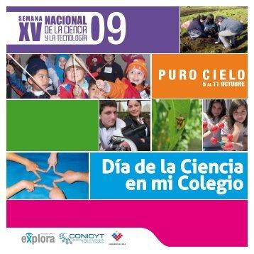 Descargue Boletín Día de la Ciencia en Mi Colegio 2010 - Altavoz