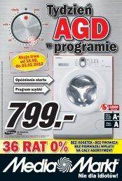 Akcja trwa od 16.02. do 23.02.2012 - Media Markt