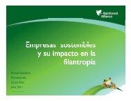 Empresas sostenibles y su impacto en la Empresas sostenibles y su ...