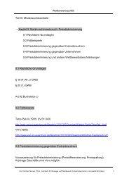 Wettbewerbspolitik Teil III: Missbrauchskontrolle → Kapitel 9 ...