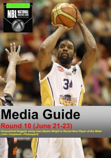 Round 10 (June 21-23) - Basketball New Zealand