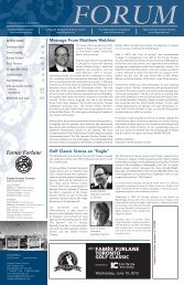 Spring 2013, Volume 12, Issue 1 - the Villa Leonardo Gambin Charity