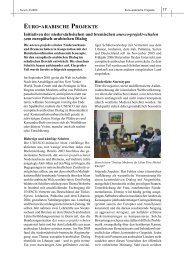 EURO-ARABISCHE PROJEKTE - unesco-projekt-schulen Deutschland