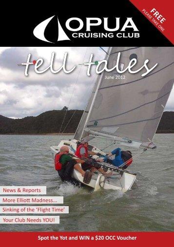 Tell Tales June 2012 - Opua Cruising Club