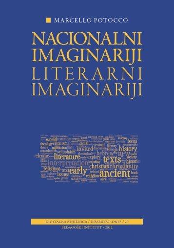 Marcello Potocco, Nacionalni imaginariji ... - Pedagoški inštitut