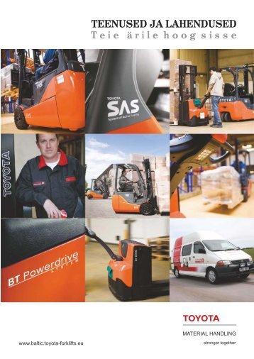 Laadige alla teenuste ja lahenduste ülevaatlik brošüür