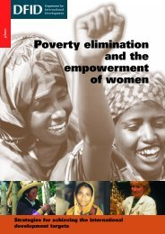 Poverty elimination and the empowerment of women - AL BACHARIA