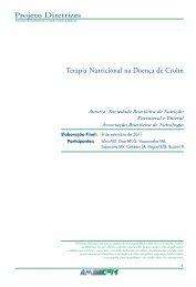 Terapia Nutricional na Doença de Crohn - Projeto Diretrizes