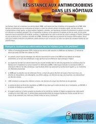 Les hôpitaux - AntibioticAwareness.ca