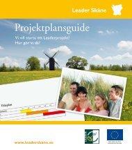 Projektplansguide - Leader i Skåne