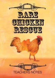 Rare Chicken Rescue Teachers Notes