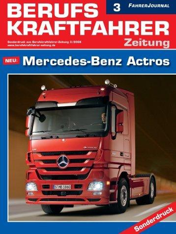 NEU: Mercedes-Benz Actros Zeitung