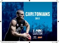 CARLTONIANS - Carlton Football Club